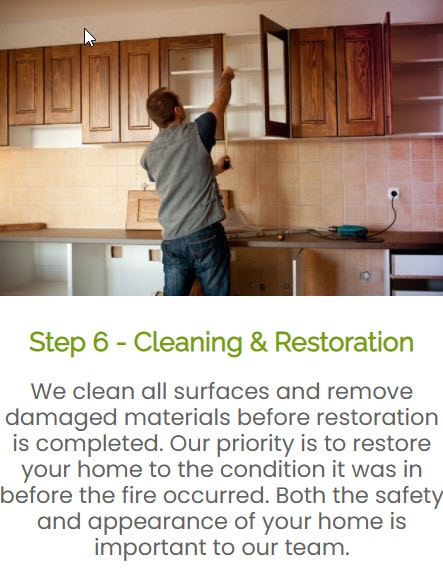 Cleaning, repair and restoration